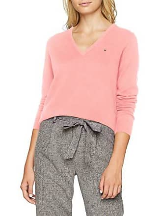 california Superfine Gant Pull Pink Rose Neck Femme Lambswool V fOrwqx0O