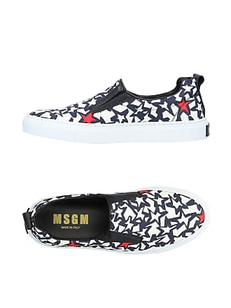 amp; Basses Chaussures Sneakers Msgm Tennis qAwZSF