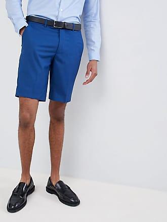 Enge Farah shorts Blau Hochzeitsanzugs In dr0Prq