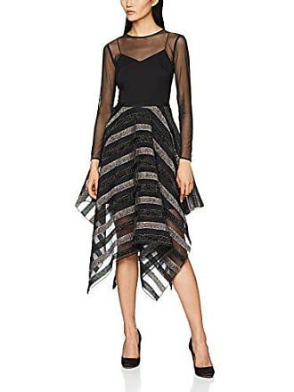 Coast 36 Mujer Para Milla Fiesta Negro Vestido De black 80 qOxAqar