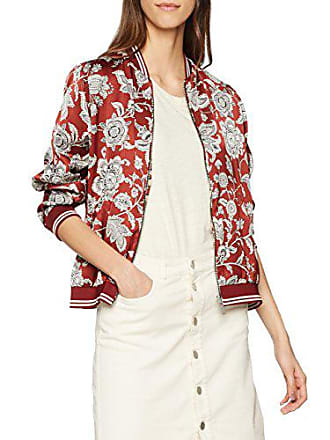Jacket With Ribs Soda Reversible Femme amp; Sporty Maison Printed Multicolore Bomber Veste Scotch 4qRwYz