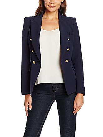 Jacket Tantra Para Buttons With Chaqueta Gold Mujer S Navy TqrdqwaxX