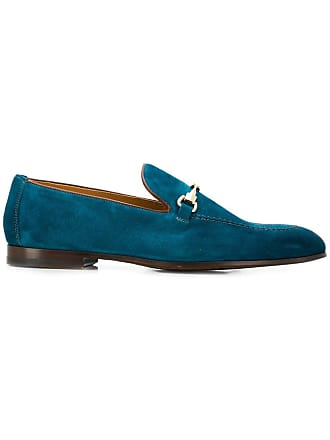 Met Blauw Doucal's Met Gesp Loafers Doucal's Blauw Gesp Loafers Doucal's 44q0xaO