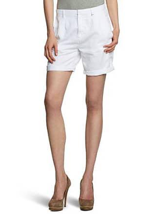 29 29 brand white Blanc Bermuda Size Fr 38 fr Weiß 0001 40 Gas Femme nq0fFPwwO