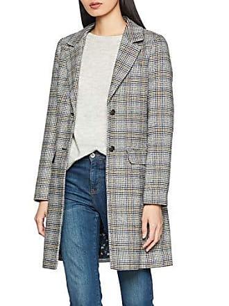 Grau 809 S 91n1 14 52 2963 Manteau Grey silver Check Femme oliver gxEq0