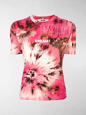 Dream Print Msgm Tie T dye shirt 3jALR5qc4S