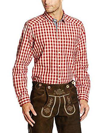 Homme dark Tom L Casual Chemise Hemd Red Stockerpoint Rouge Zg4vx