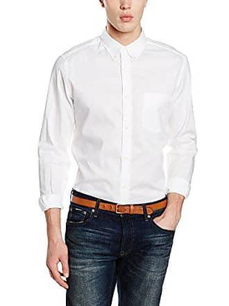 −40 Blanc Boutonné Stylight Col Achetez Jusqu''à Chemises Xg1qwE