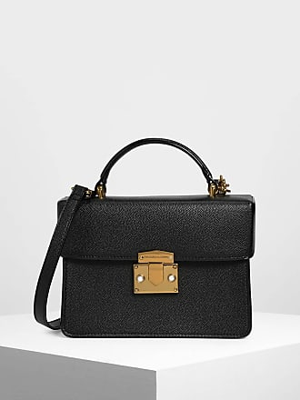 Keith Classic Push Lock Handle Top Bag Charlesamp; eodCWrBx
