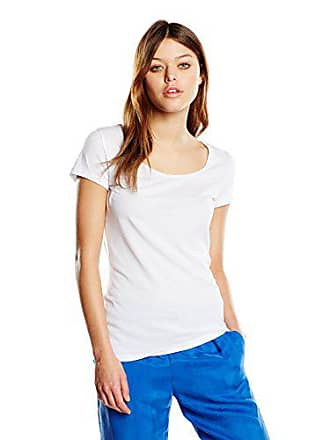 Orange white Large Tafame T Blanc shirt Boss Femme fOFqwOd