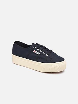 Für Damen 2790 W C Superga Plato Sneaker Blau Cot Linea fSqww068F