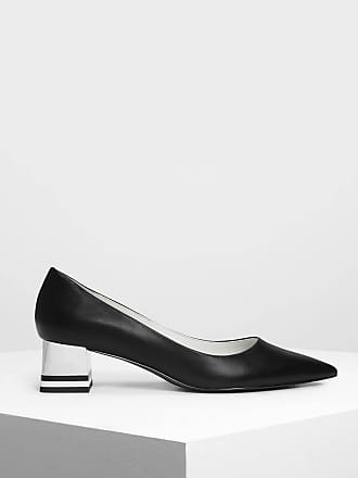 Heel Pumps Keith Charles Striped Chrome amp; n6pRqBa