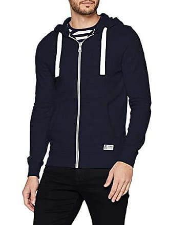 Tom Sweatshirtjacke 10668MediumherstellergrößeM Blausky Herren Blue Sweatshirt Captain Tailor sCxthQrd
