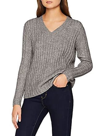 Ls Pcsanni Wool Knit Pullover Pieces Damen neck V jq53R4AL