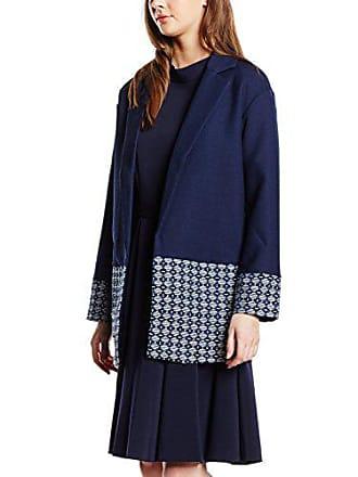 Nafnaf Fr Fabricant Bleu Femme Adaphne Manteau taille 0567 Marine Oq7Oa