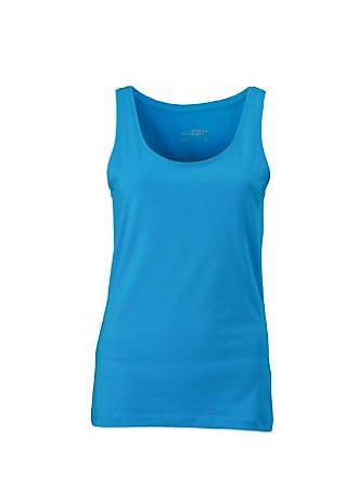 Turquesa Nicholson amp; Elastic large Fabricante Top turquoise Para James talla Camisa Ladies X Del Mujer 8wffq