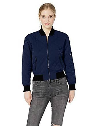 Para blue Bomber Quilted Moon Azul Large 1567 Mujer Armani Chaqueta q4wHF1F6