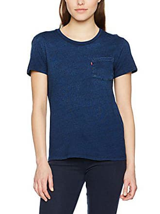 T 32 taille Pocket Indigo Fabricant Perfect Bleu Large Midnight 40 Levi's Tee shirt deep Femme The IPxqqBOwp