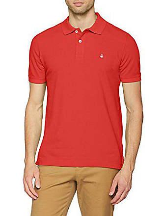 s 30a Hombre Shirt H Benetton Medium Rojo Polo red IxSwI0Bq