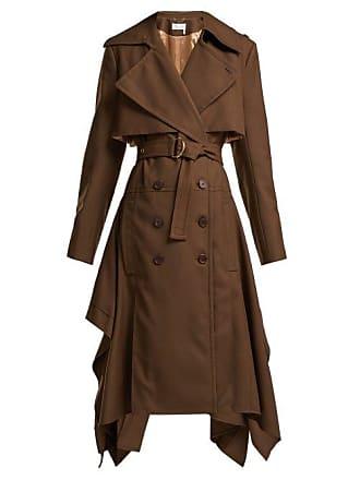 Brown Wool Gabardine Chloé CoatWomens Trench jzqUGLSMVp