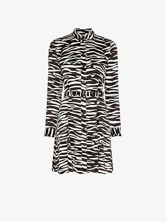 dress Print Zebra Ganni Blakely Mini 0FxAcHqIw