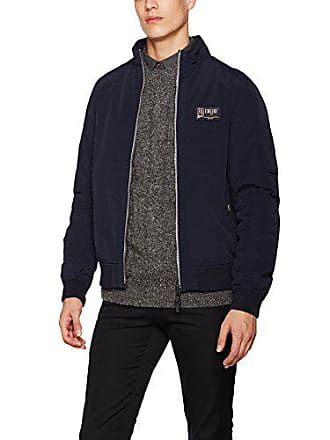 Tailor Homme Blouson Washed knitted Casual Medium Navy Jacket Tom Bleu xagRXx