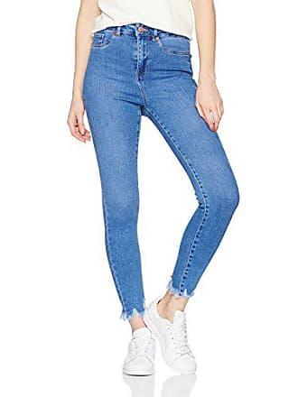 blue Jenny Look Femme 14w Disco Jean 32l X Skinny Hem New 46 Fray Bleu q6RzEFF