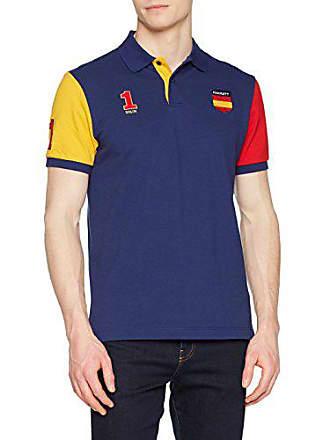 red Hombre L Hackett Spain Polo blue 5ac x8IAFqn