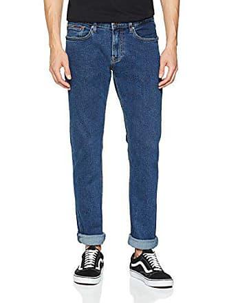 Slim Mid 911 Com Jeans burrad Vaqueros Azul Tommy l32 Scanton Hombre Blue W32 0UCvI