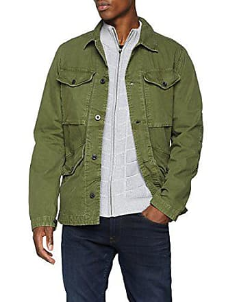 Worker Medium 724 Man Jacket Overshirt Green star For sage Vodan G EvCAqz