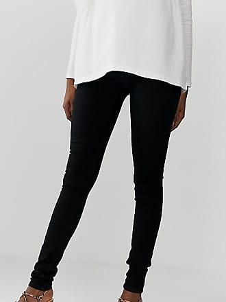 Schwarz MamaliciousJeans Elastischen Licious Mama Mit Seitenteilen 45j3RALq
