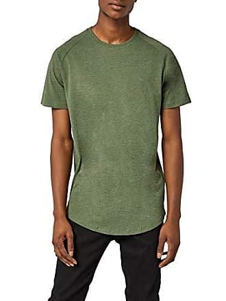 Fit Jcorafe Homme Green shirt Vert rifle reg T Noos amp; Medium Melange Jack Crew Neck Ss Tee Jones F6cqE
