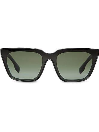 Squadrati Sole Colore Da Di Sunglasses Occhiali Burberry Nero tqnwUI1w