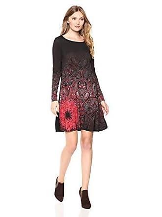 jaipur Desigual Mujer Small Para Vest negro 2000 Vestido w6qPq1HA