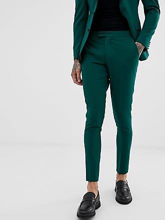 Jaspe Ajustados Design Muy Pantalones Verde De Esmoquin Asos HCBqwfH