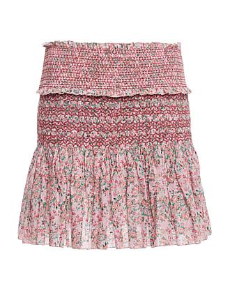 Loveshackfancy Ruffle Camilla Skirt Floral Mini 0S0w8Ufq