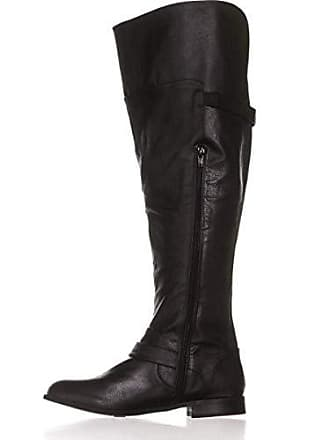 Eu Daphne Stiefel Wide Calf 8 Rund Schwarz Bar Fashion Us Frauen 5 39 5 Groesse Iii Pumps paqWUfw