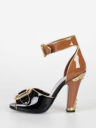 5 Cm 35 Patent Prada Bicolor Sandals Leather Size 11 fgOqHO
