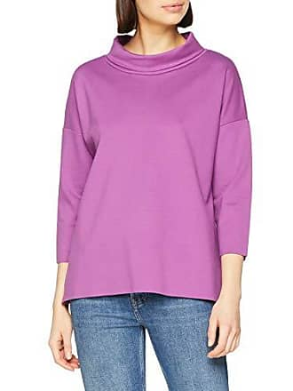 Camicia produttore 46 Oversize viola lunghe da donna maniche Camicia Taglia More brillante 44 0859 Viola a 6qHwnEA