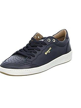 Blauer Sneaker Aus Murray01 Usa Herren Blauer Glattleder Lederfutter Und Turnschuh 46 usa Mit Groesse x80wrnRx
