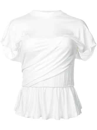 Alexander Froncé Wang Péplum shirt Blanc T BqawBHp