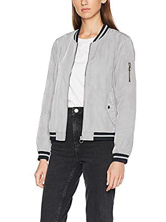Contrast sky Veste Detail silver Femme Gris Onlvictory Cc Only Otw Bomber 5vqAHP