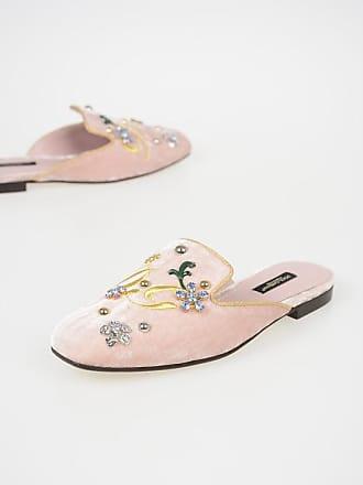Sabot Velvet Size Dolceamp; 5 Gabbana Flat 38 Jackie wOyvNm8n0