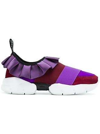 Low Pucci Ruffle Sneakers Rose Emilio Zq81wF5n