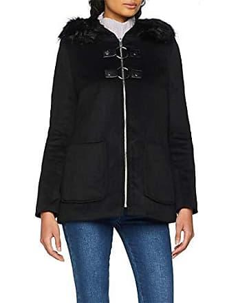 60 Fabricant Jennyfer Femme 00laba taille Small black Noir Manteau 0 S1XzqS