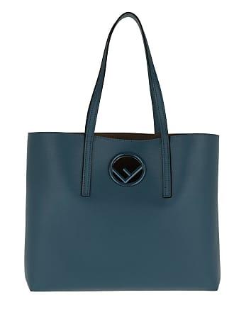 Balena Classic Fendi Tote Blau Leather 34Lc5AjqSR
