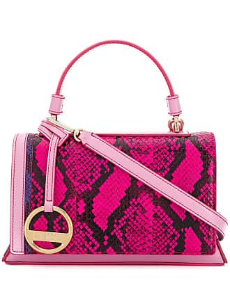 Schlangenleder In Pucci optik Handtasche Rosa Emilio aw4nqHTWRT