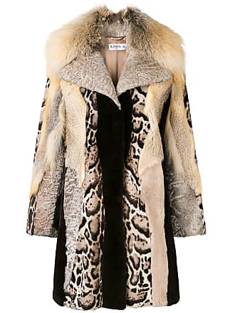 Neutres Embroidered Liska Fur Jacket trim Tons 0T1qz