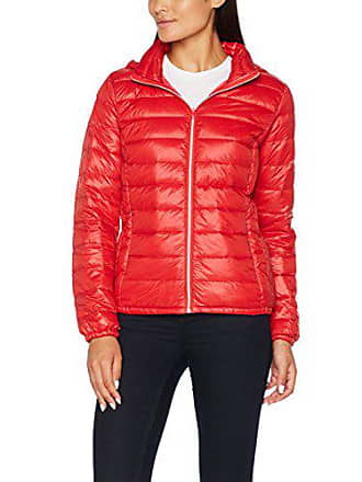 red Blouson Jacket Femme Down 81l Benetton With 42 Filling Rouge nx7Hw0xqSP