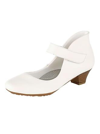 Weiß Weiß Elegantem In amp;mathilda Spangenpumps Mae Look BnfqaHwg